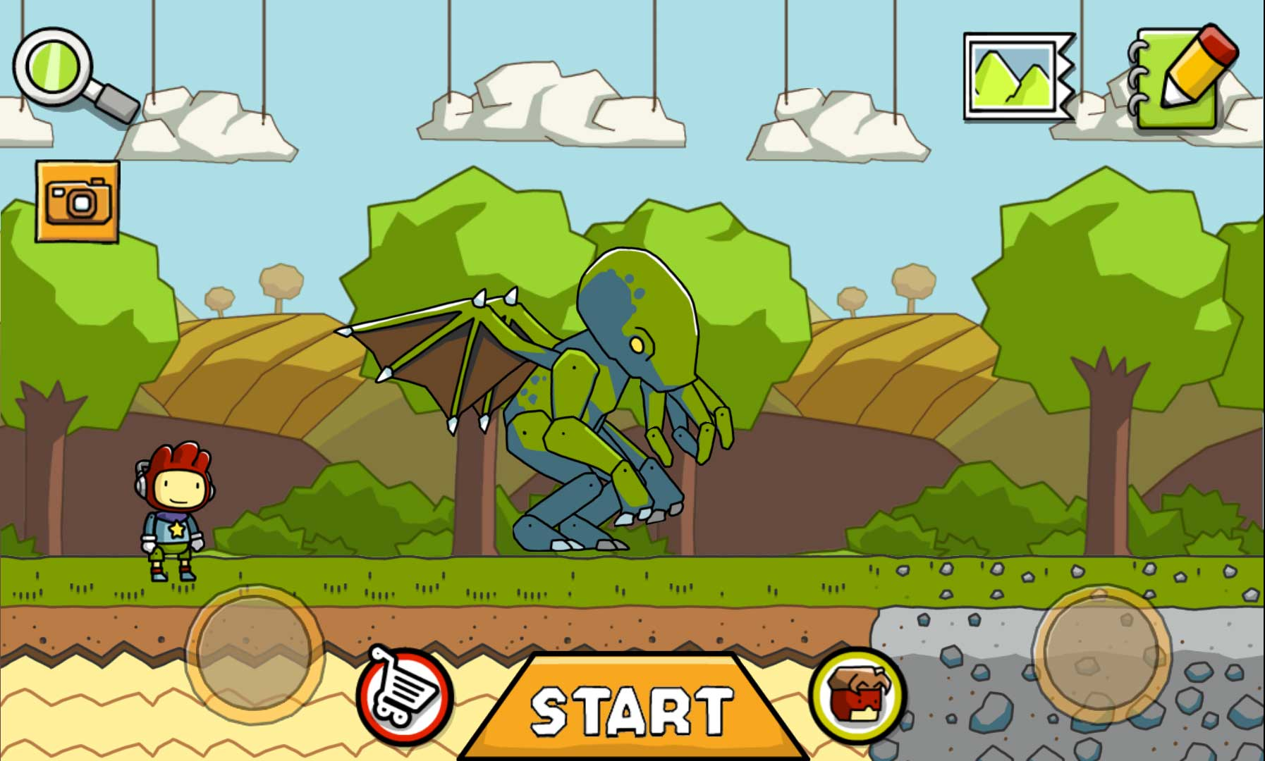 Scribblenauts unlimited ep 26