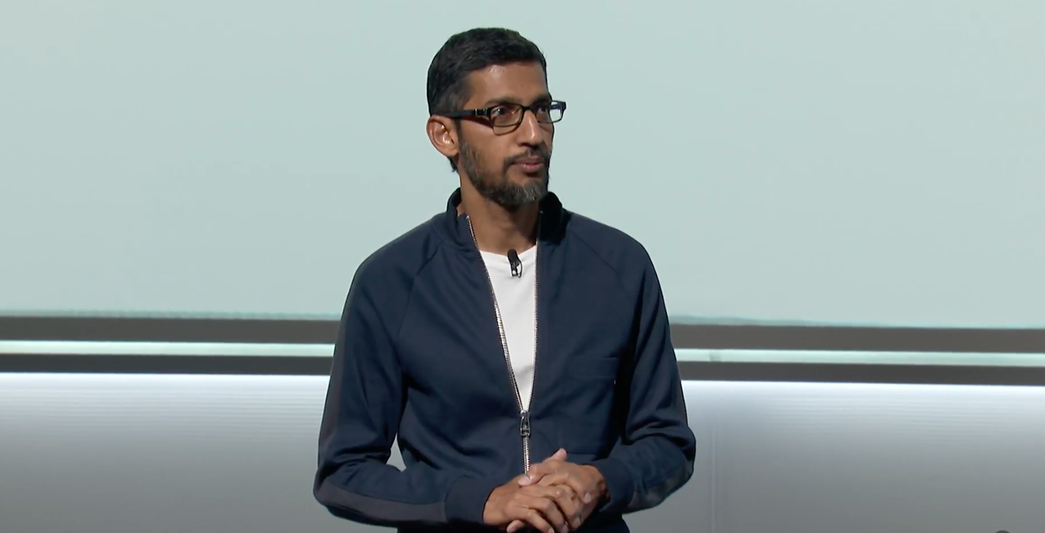 Sundar Pichai Google event