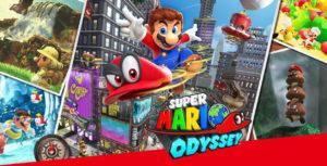 poser para el juego de Super Mario Odisea