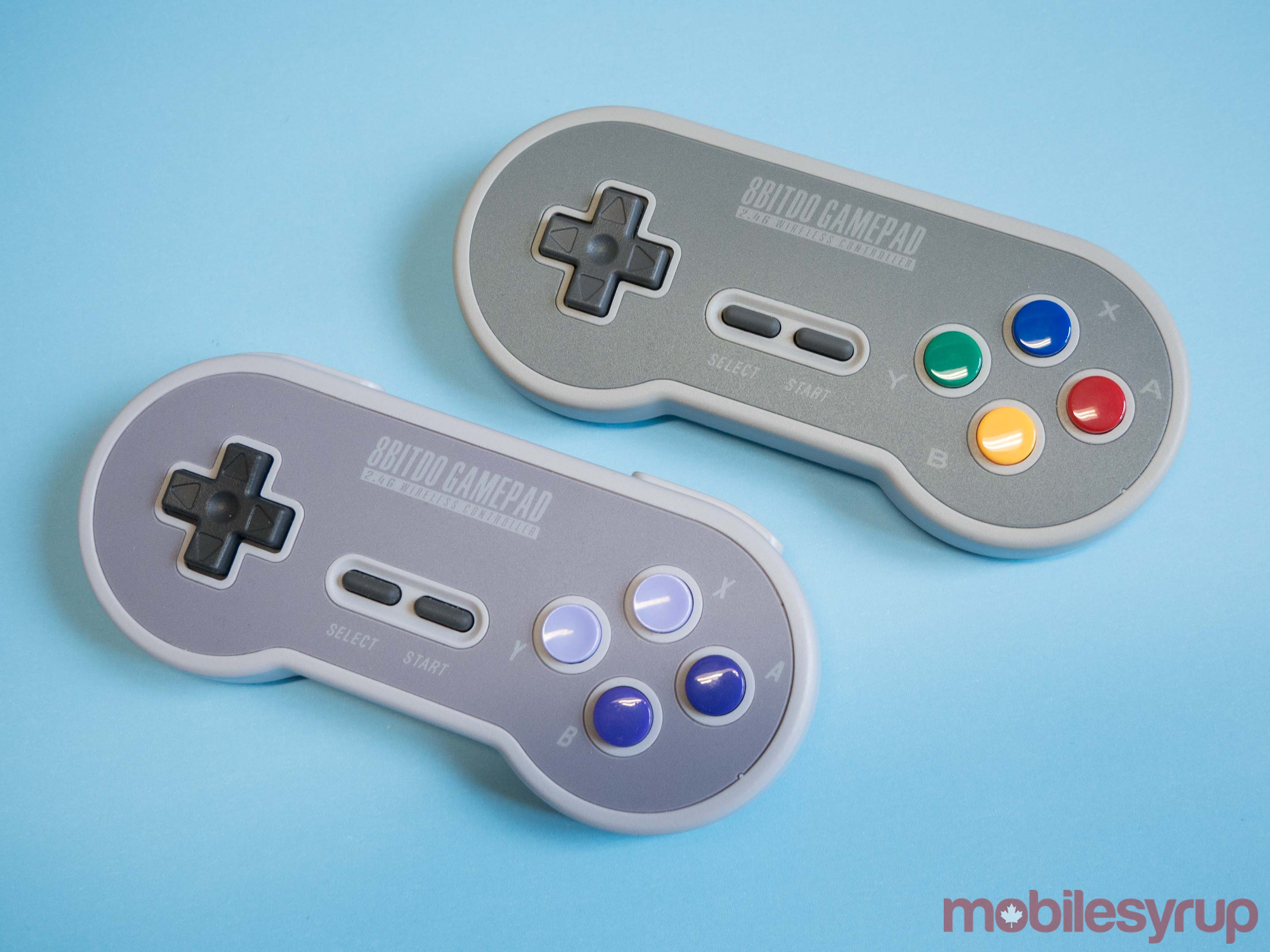 8bitdo's SN30 and SF30 controller