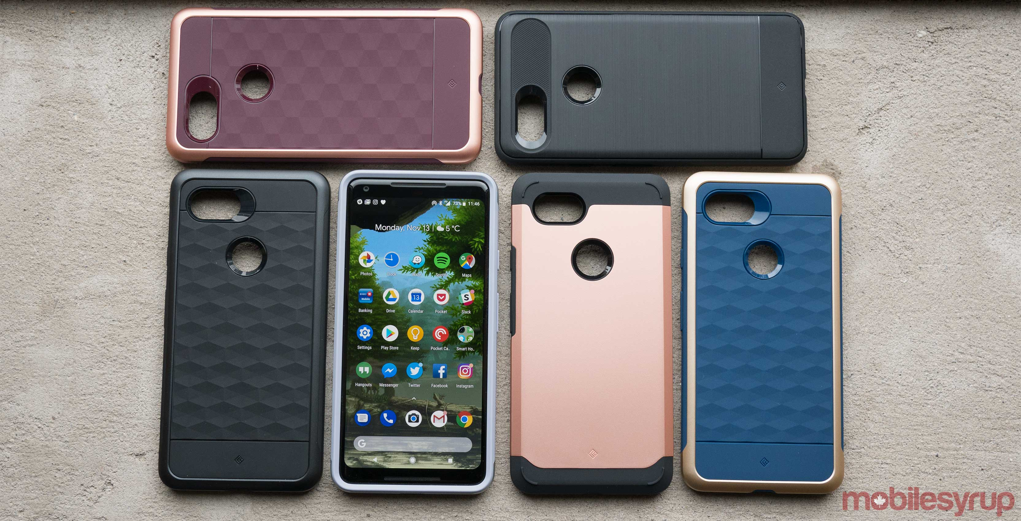 Caseology Pixel 2 XL cases