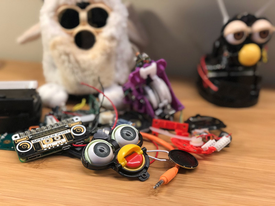Furby destroyed