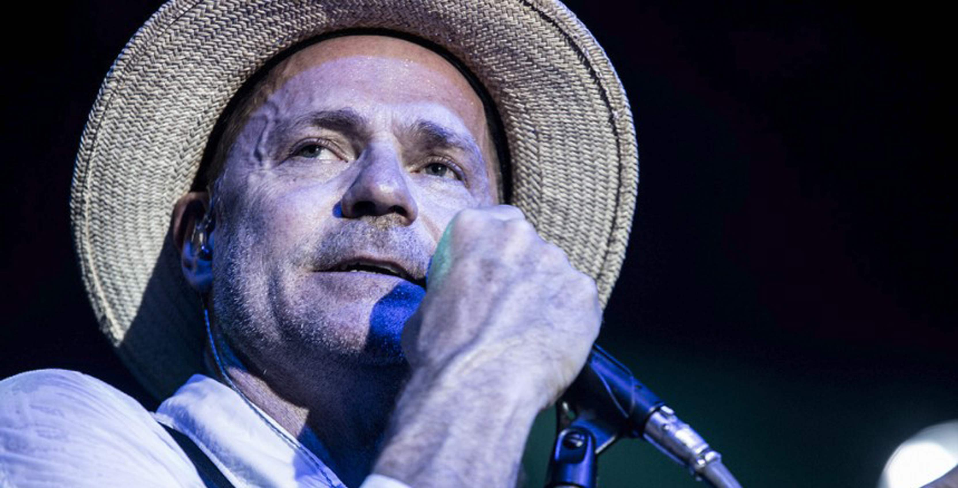 Photo of former Tragically Hip frontman Gord Downie