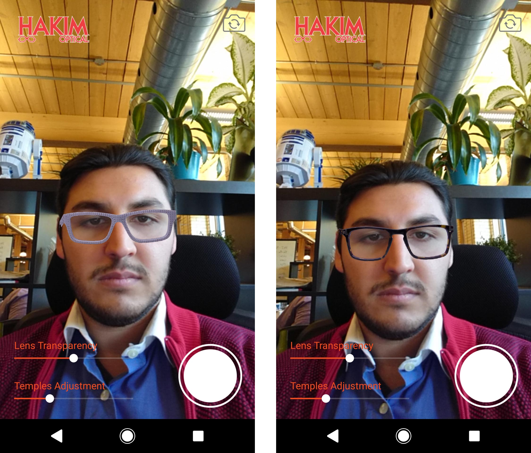 3010b1fdbe Hakim Optical launches augmented reality app that lets users try on ...