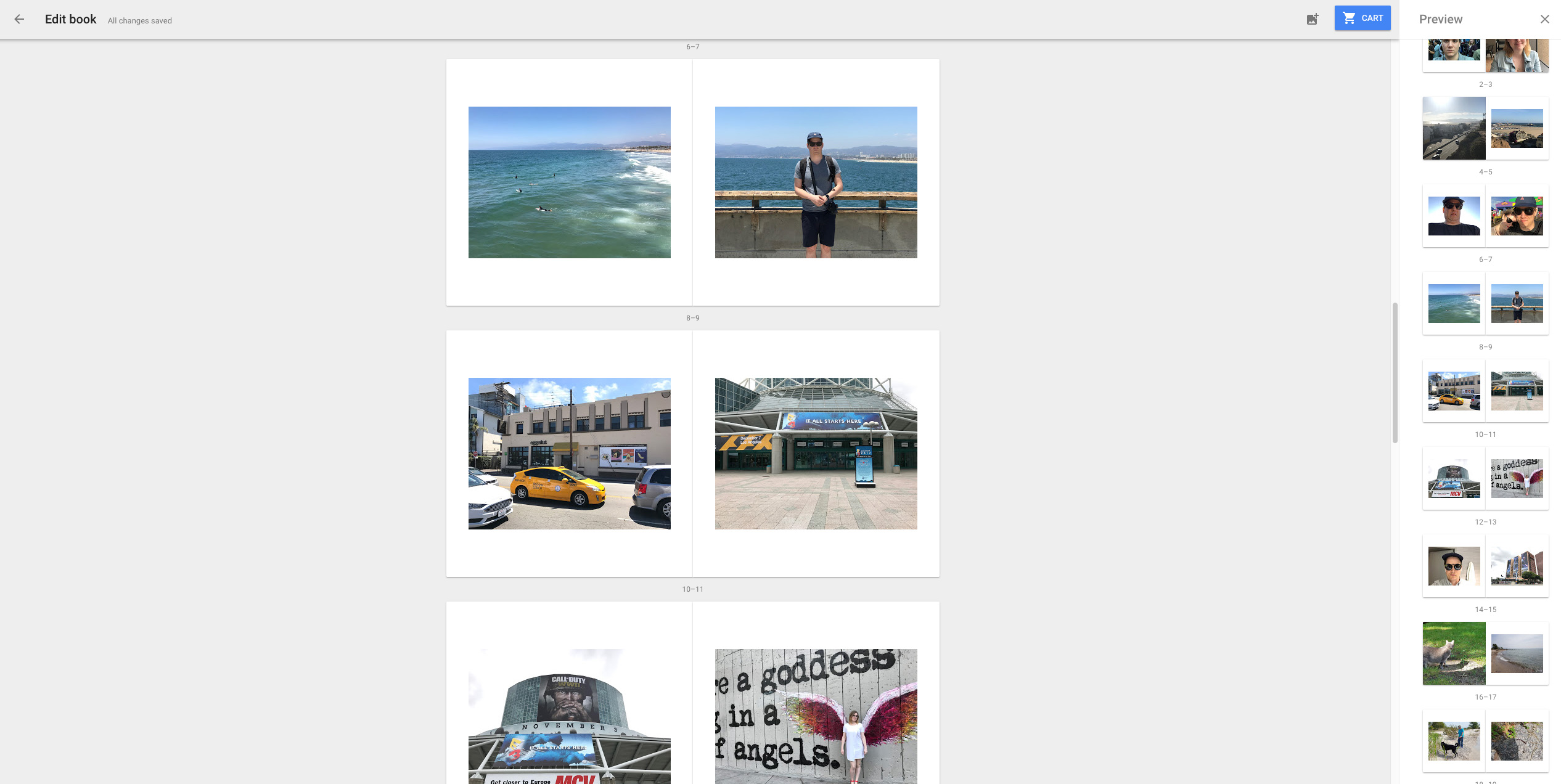 how to get google photobook in canada