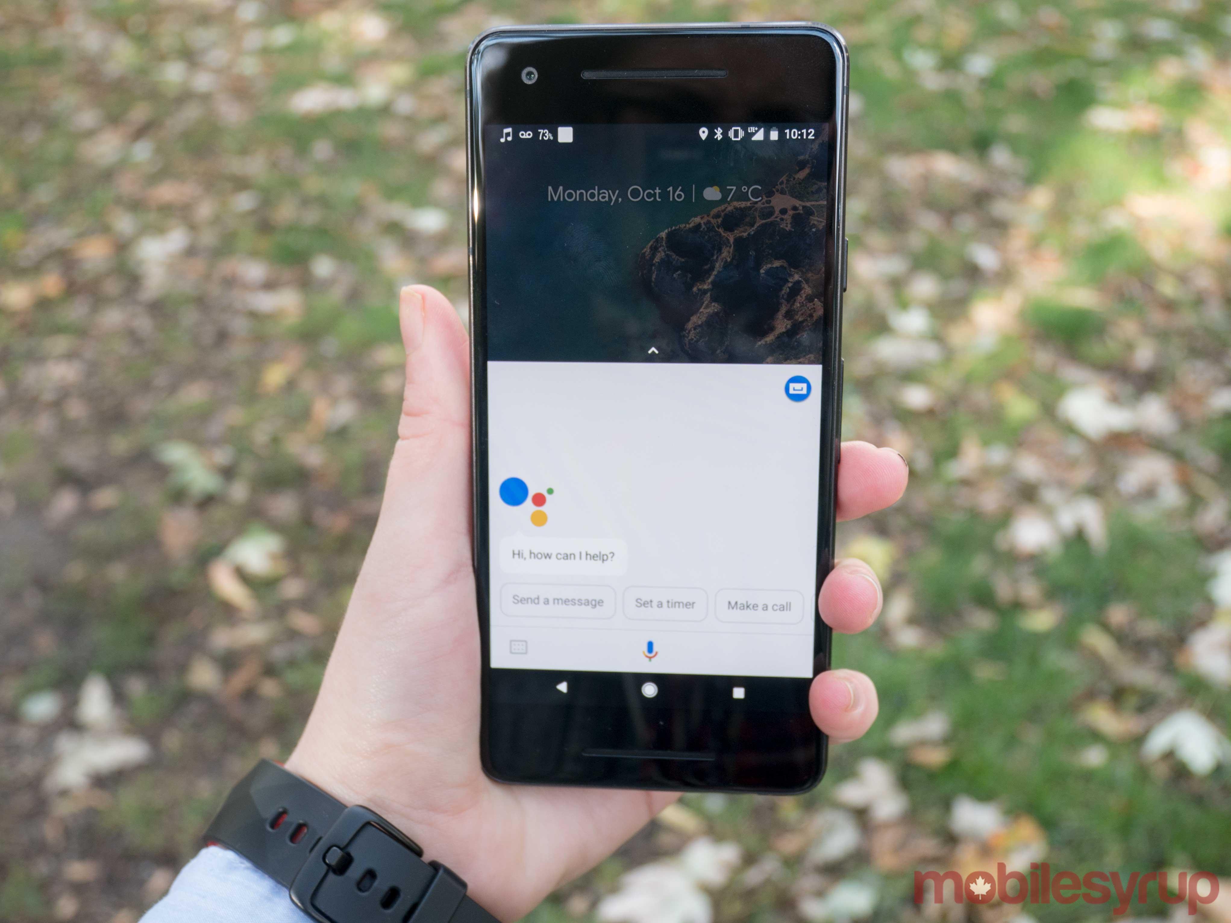Google Pixel 2 Google Assistant