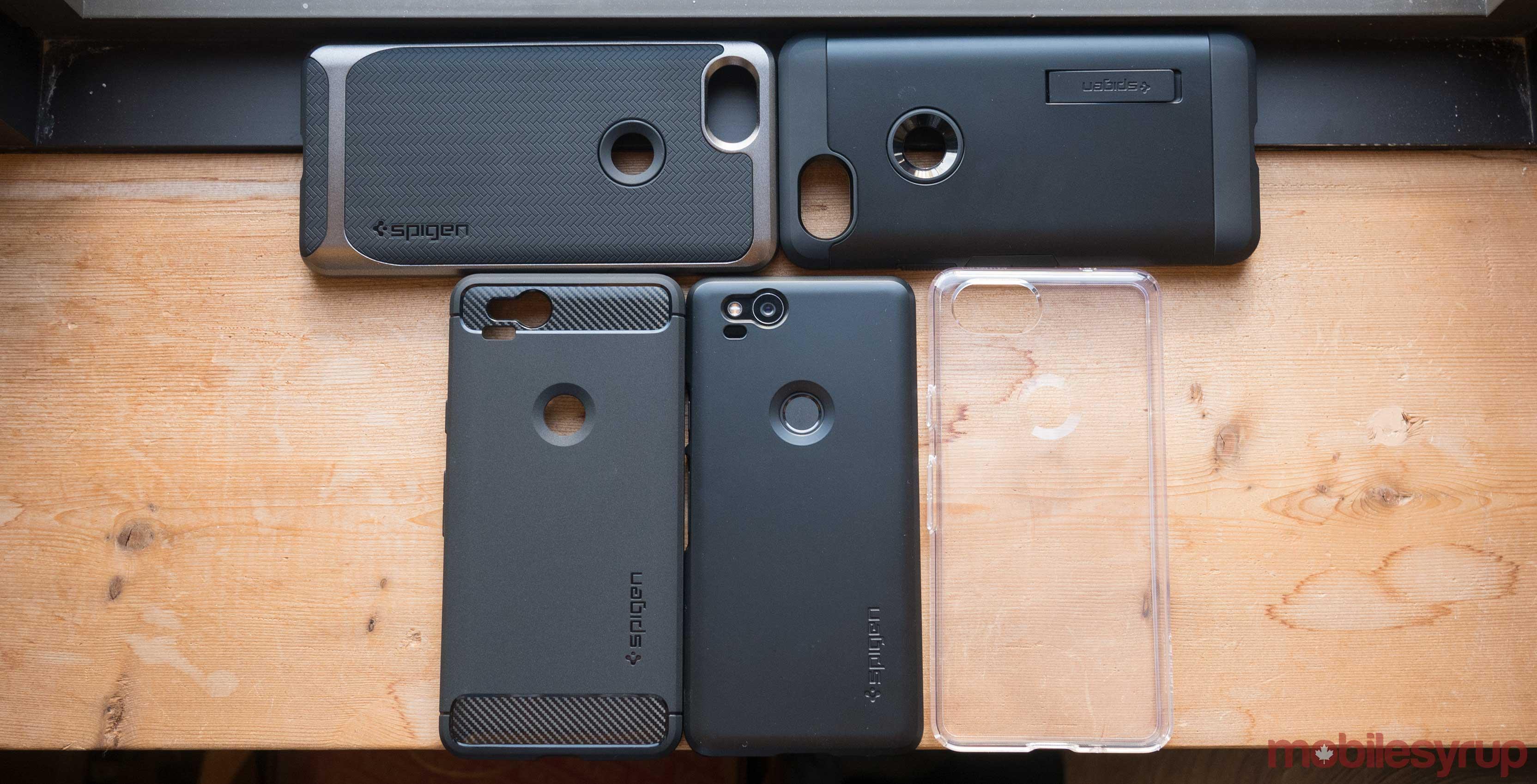 buy online 95005 65b28 A Look at Spigen's best Pixel 2 cases
