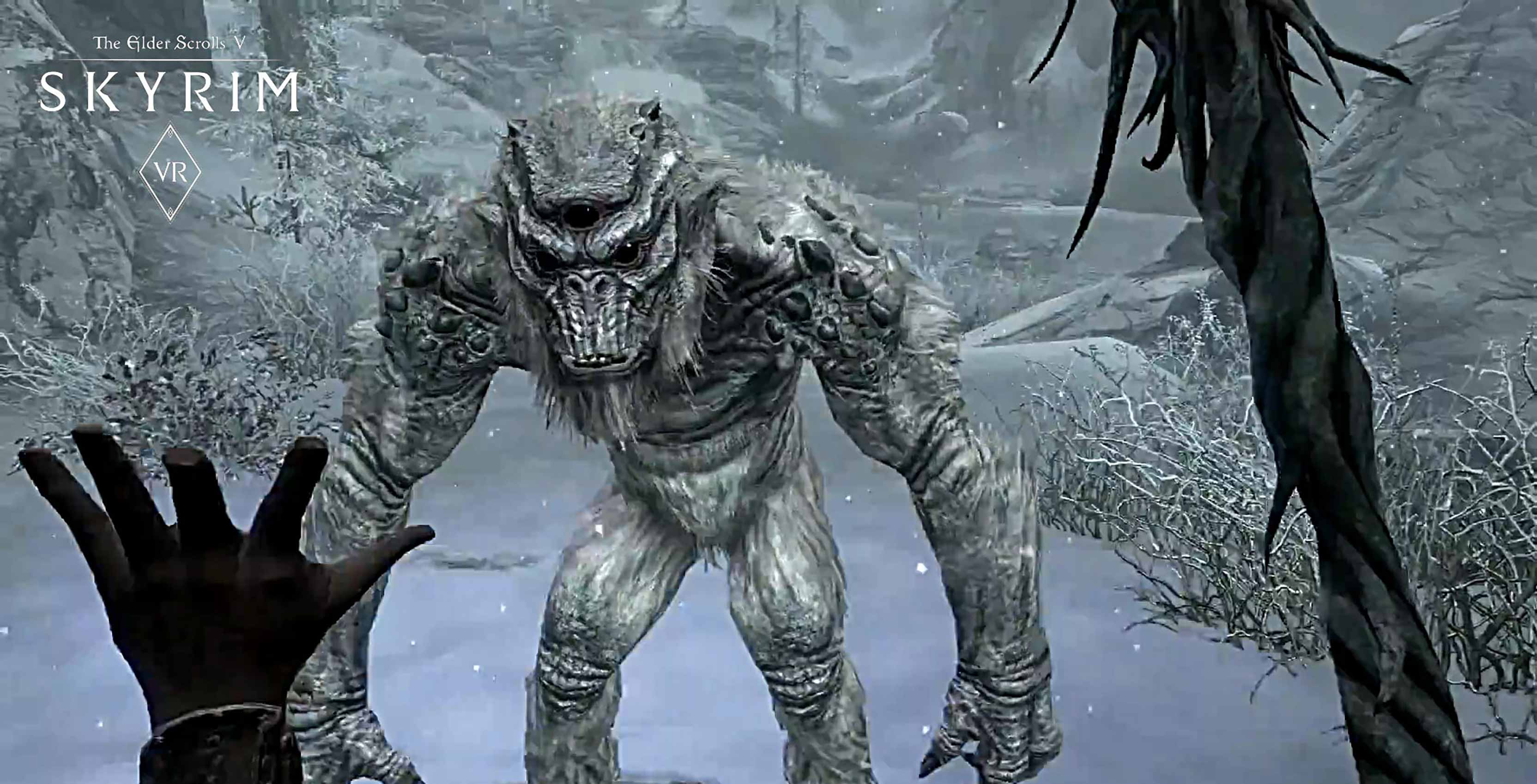 The Elder Scrolls V: Skyrim VR -- Experience the aging RPG