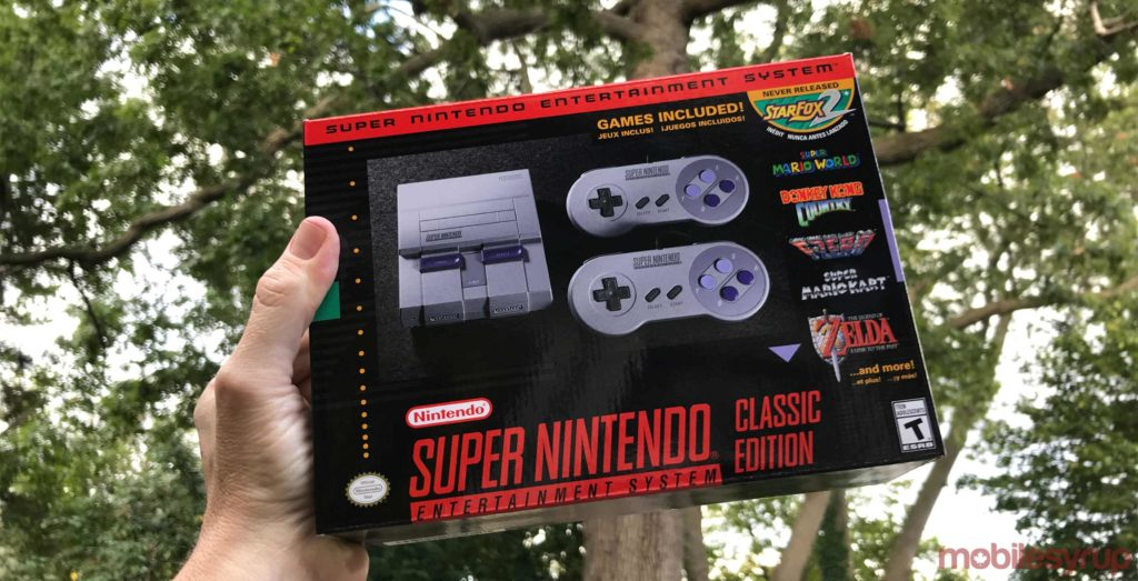 """SNES Classic will be available at select Toys """"R"""" Us on November 18th"""