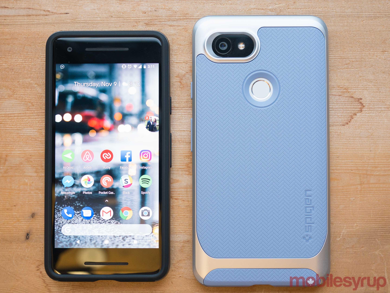save off 206d9 ed9d4 Spigen's top 5 Pixel 2 and Pixel 2 XL cases