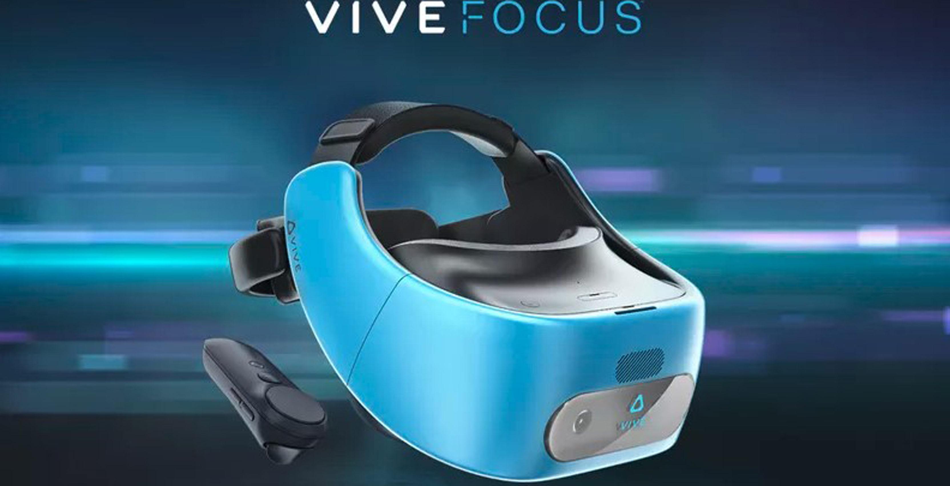 HTC Vive Focus VR headset