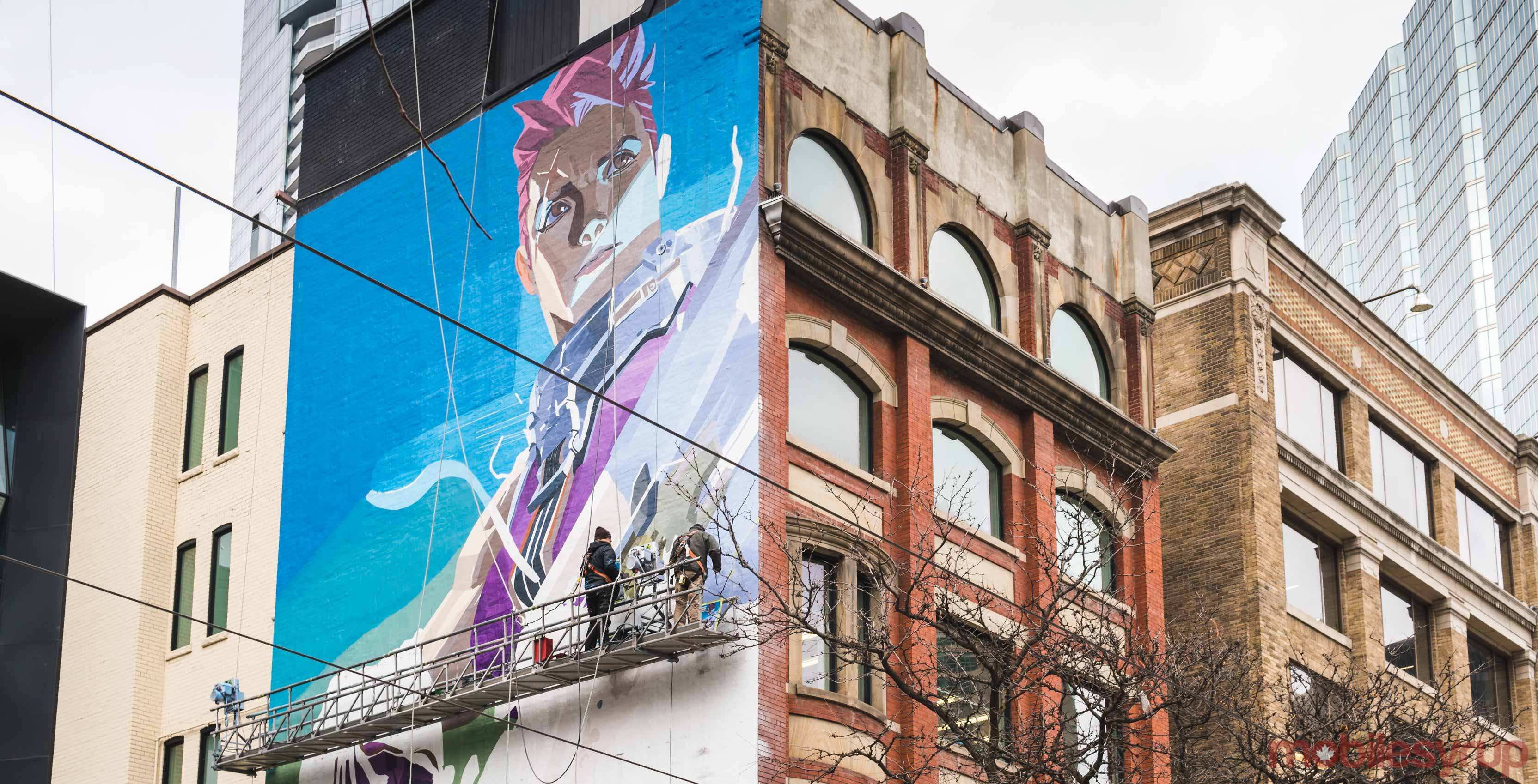 Beautiful 'Overwatch' mural appears in downtown Toronto