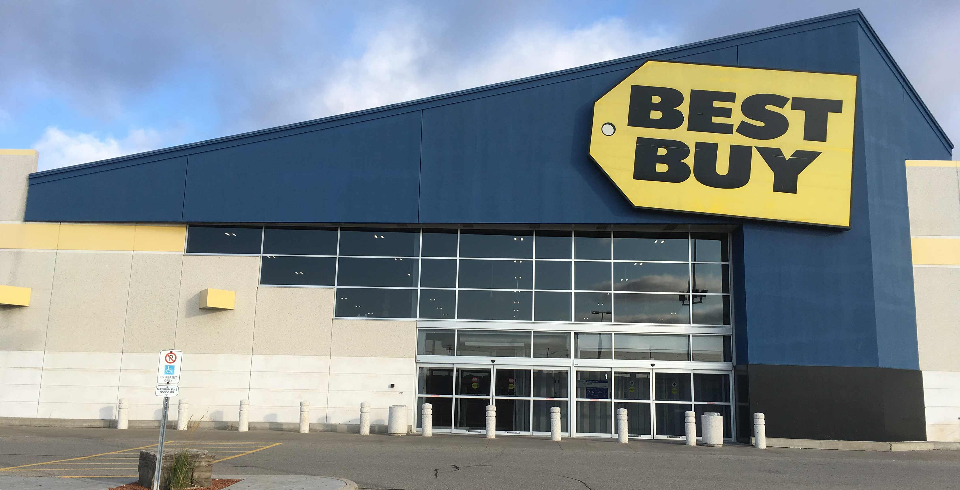 Best Buy Heartland store outside