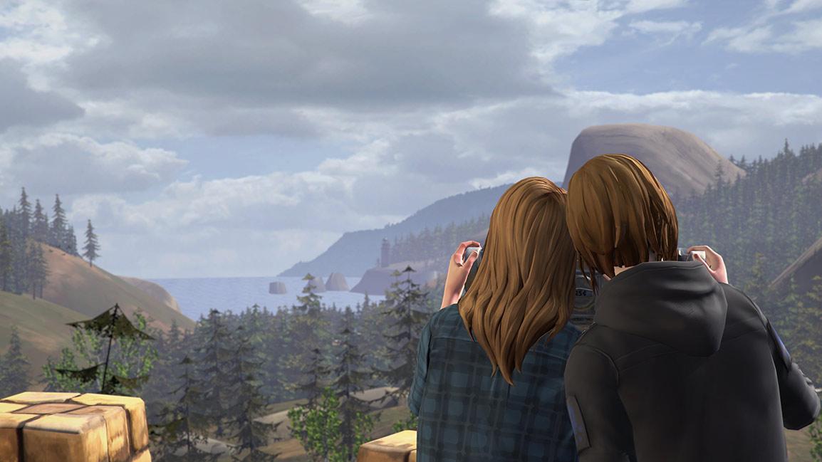 Chloe and Rachel bond