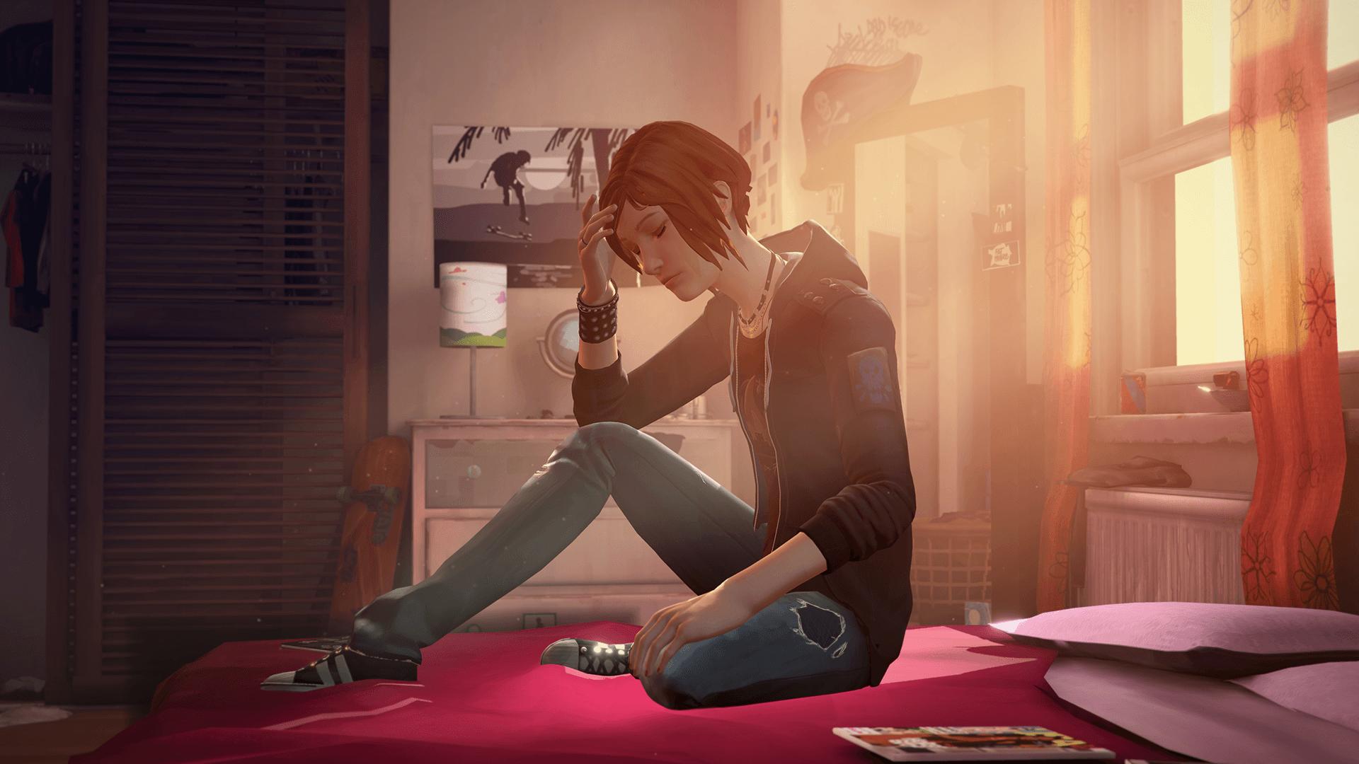 Chloe in room