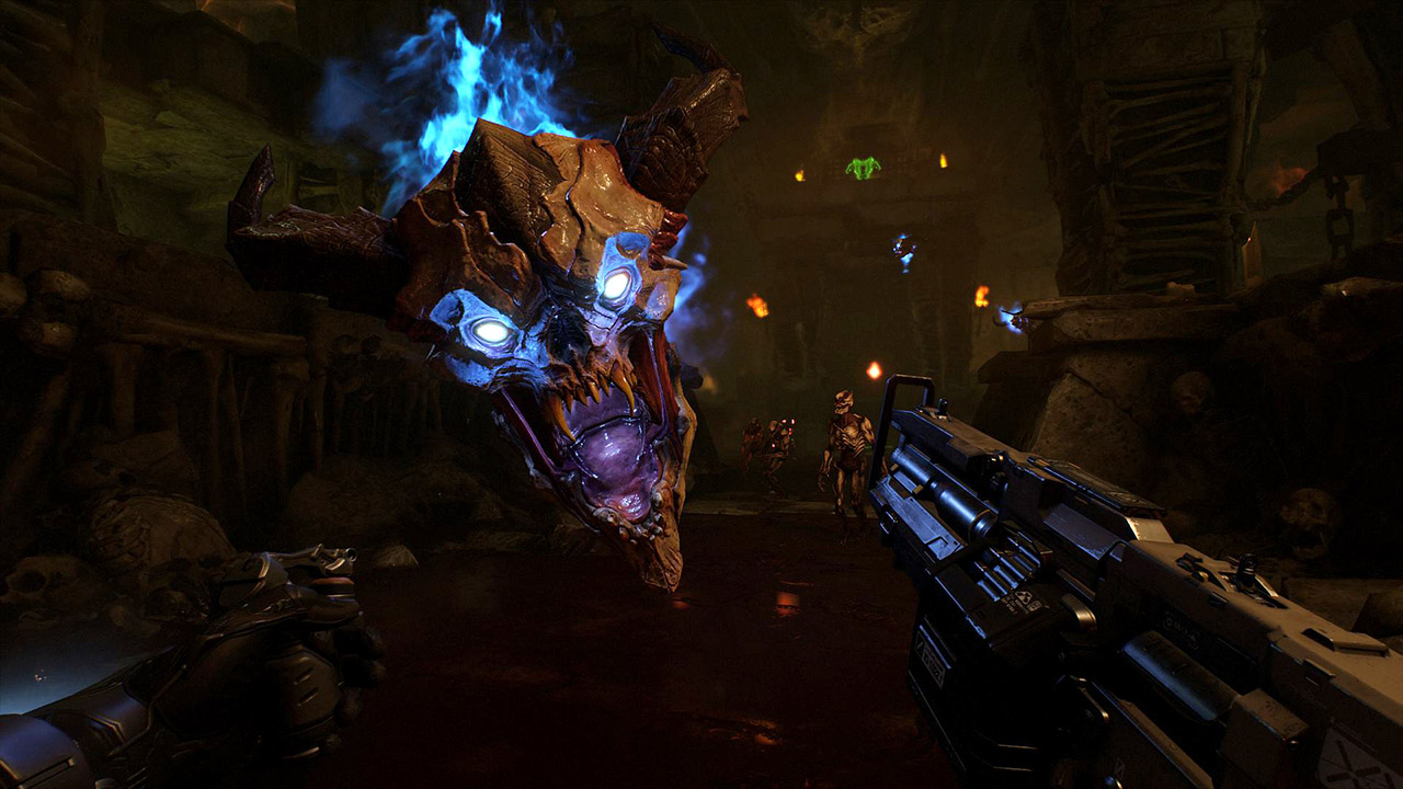 Doom VFR -- fast-paced FPS action works surprisingly well in