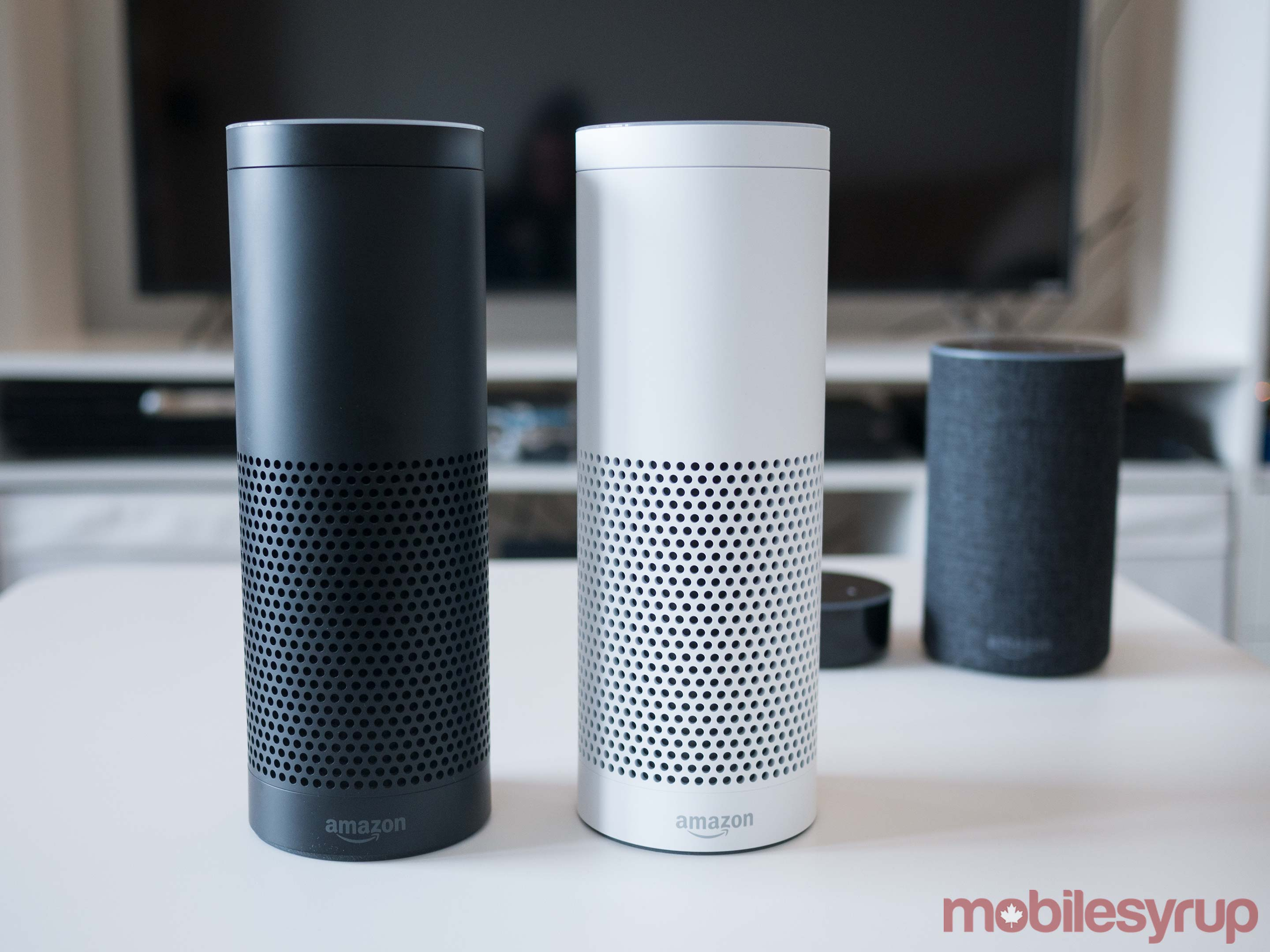 A look at Amazon's 2nd Gen Echo, Echo Plus and Echo Dot