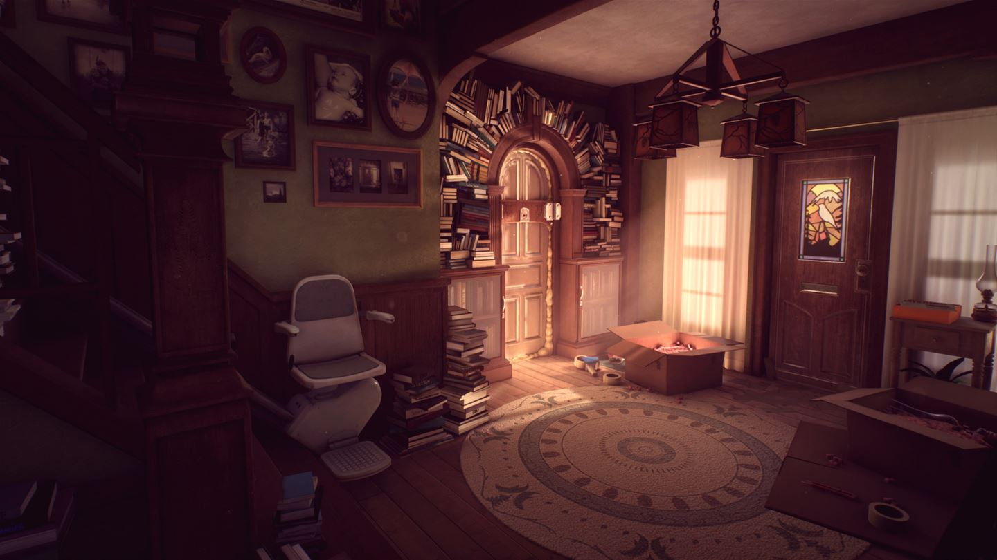Edith Finch messy house