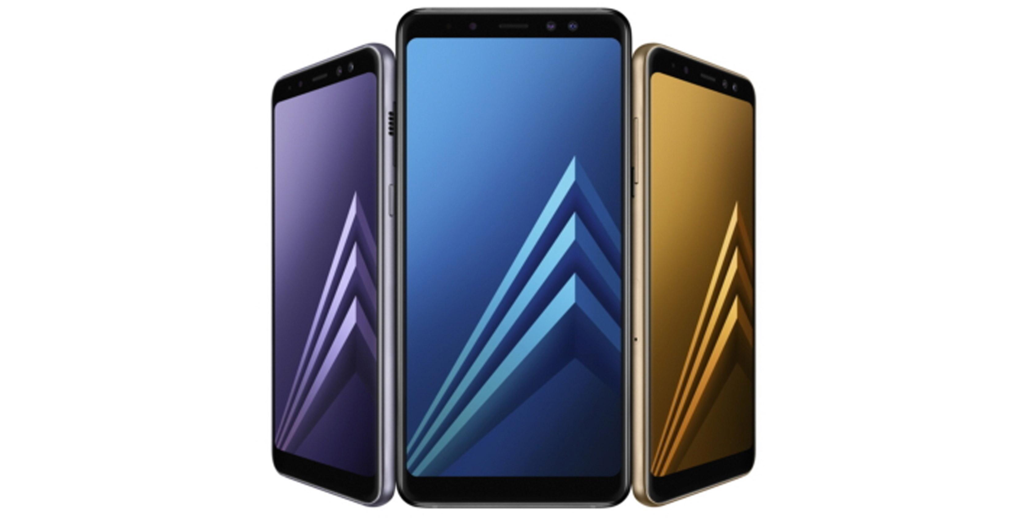 Galaxy A8 family