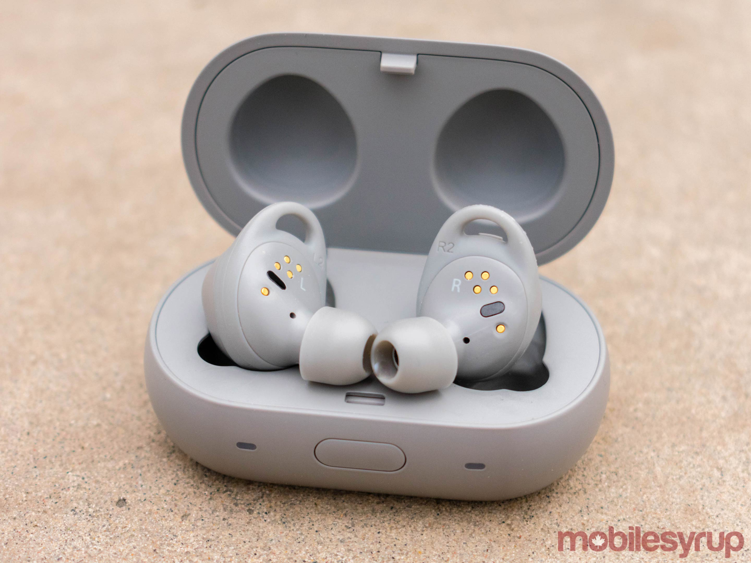Gear IconX Bluetooth headphones