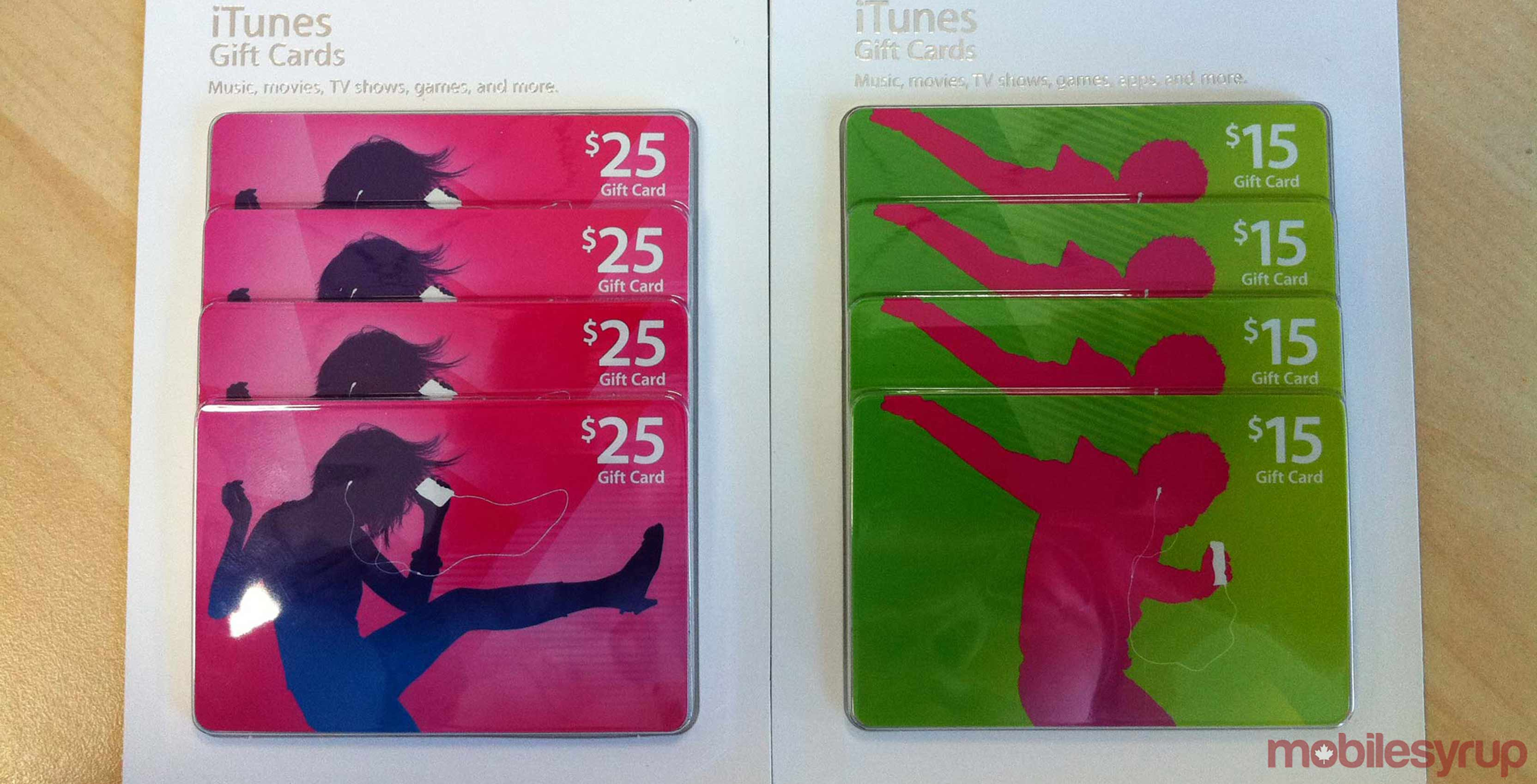 photo about Itunes Printable Gift Card identified as iTunes present playing cards at the moment upon sale at Costco.ca, help save up in direction of $35