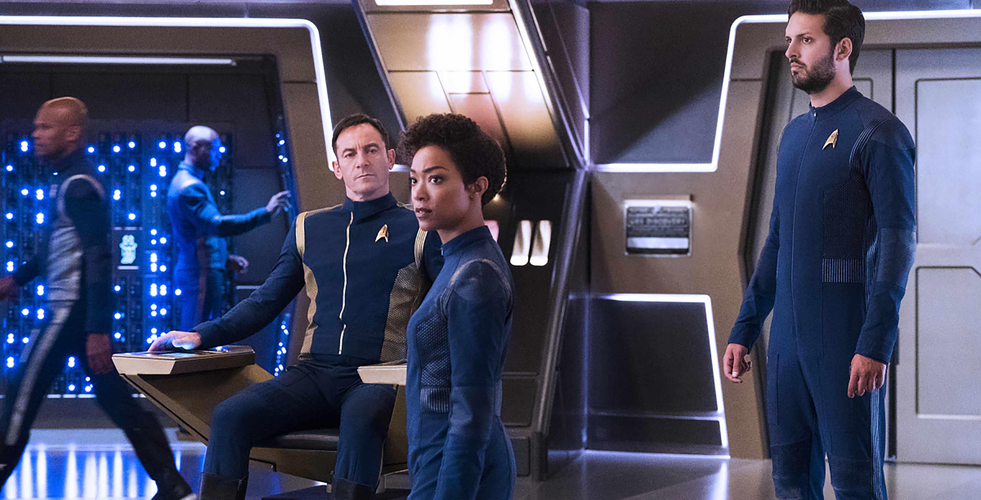 Star Trek: Discovery crew