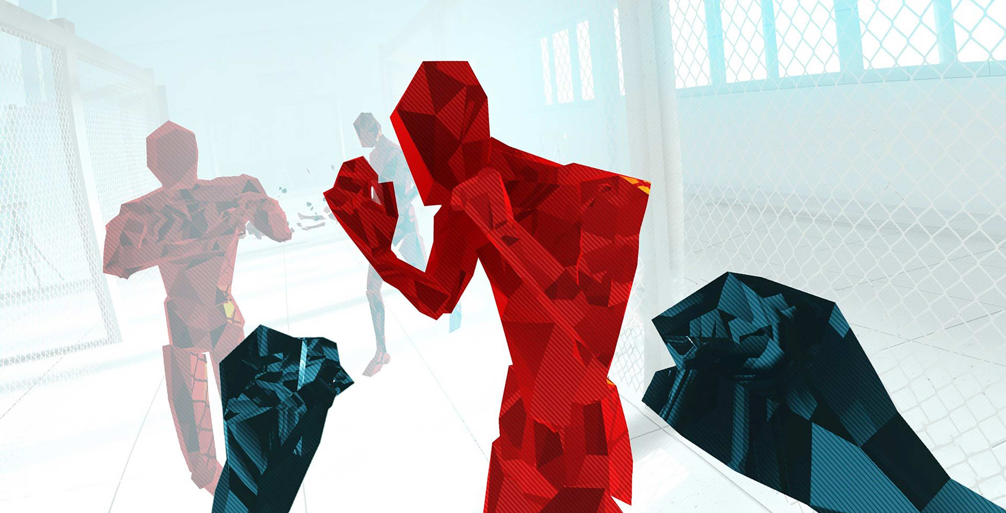Superhot VR fists