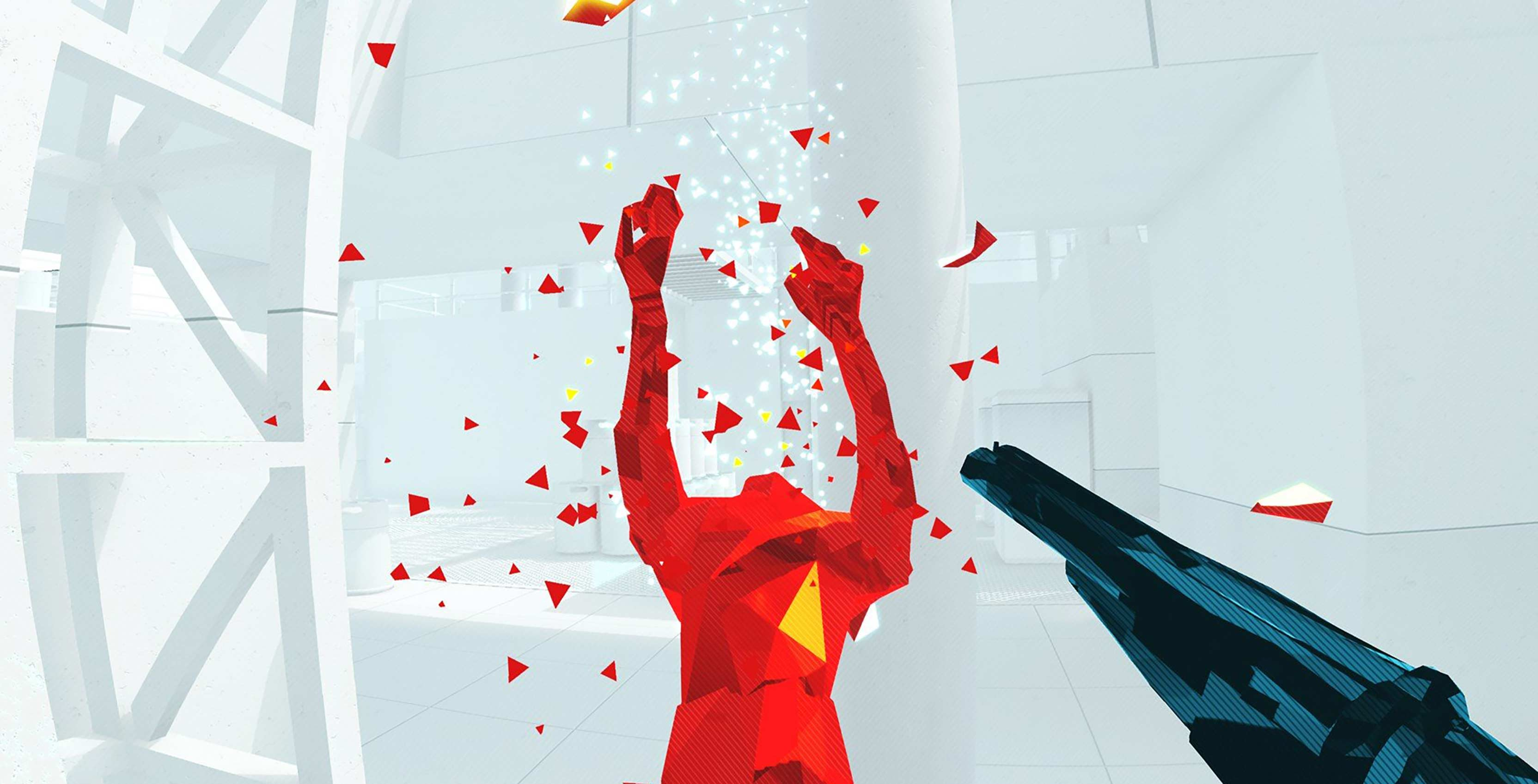 Superhot VR gunplay