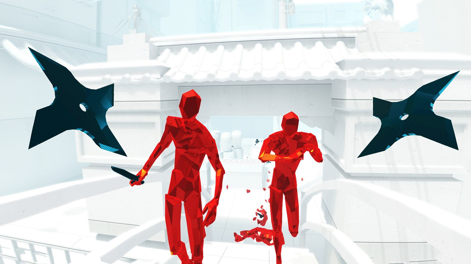 Superhot VR shuriken