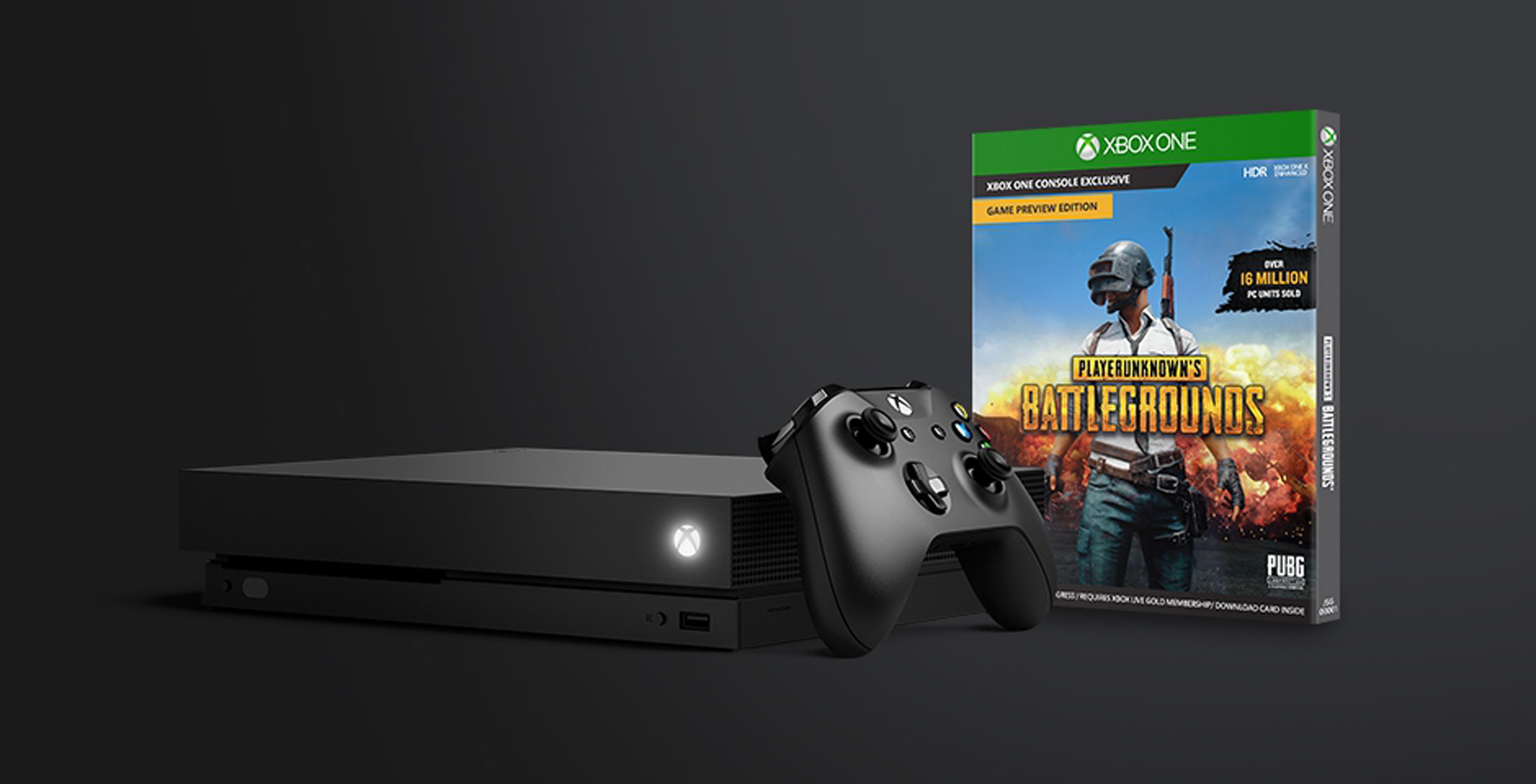 Celebrating over 4 Million PlayerUnknown's Battlegrounds Players on Xbox One!