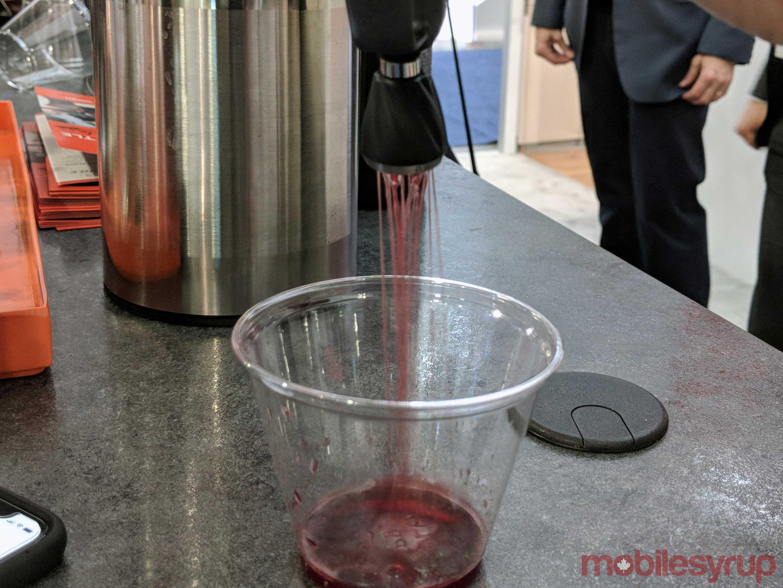 Coravin verter el vino