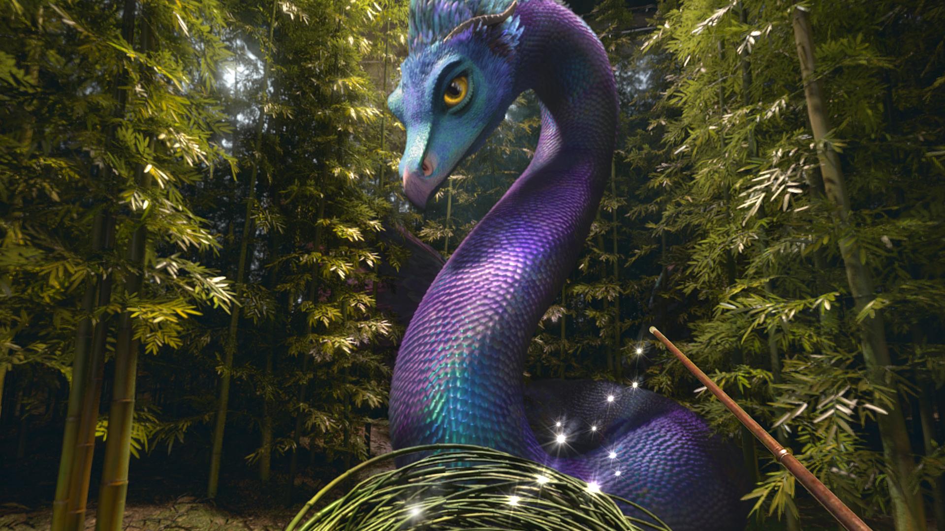 Fantastic Beasts VR dragon