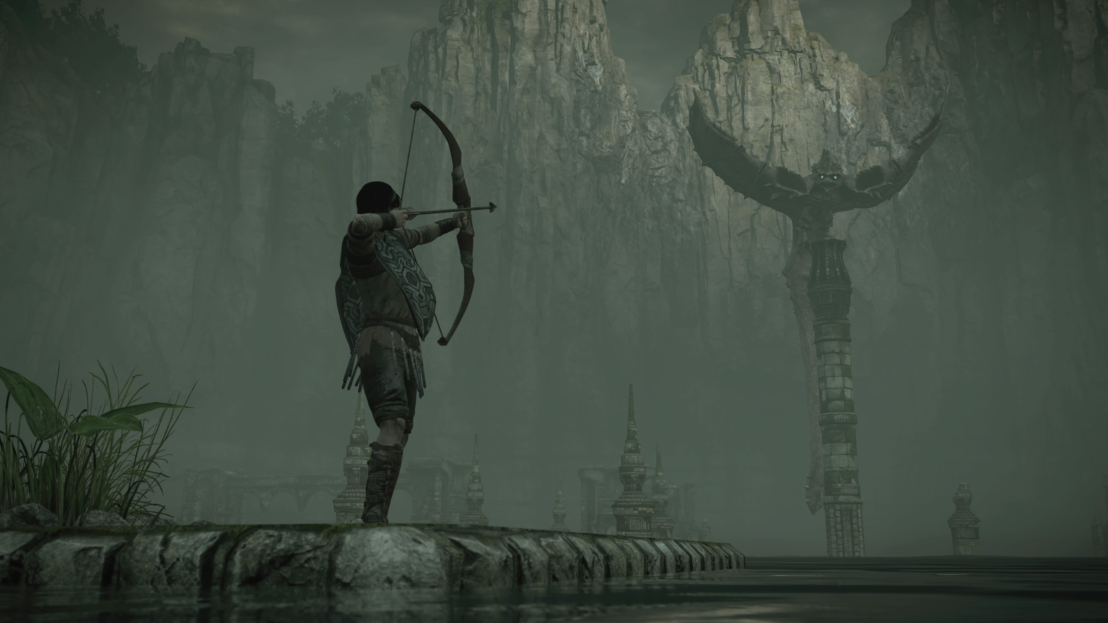 Shadow of the Colossus Wander bow