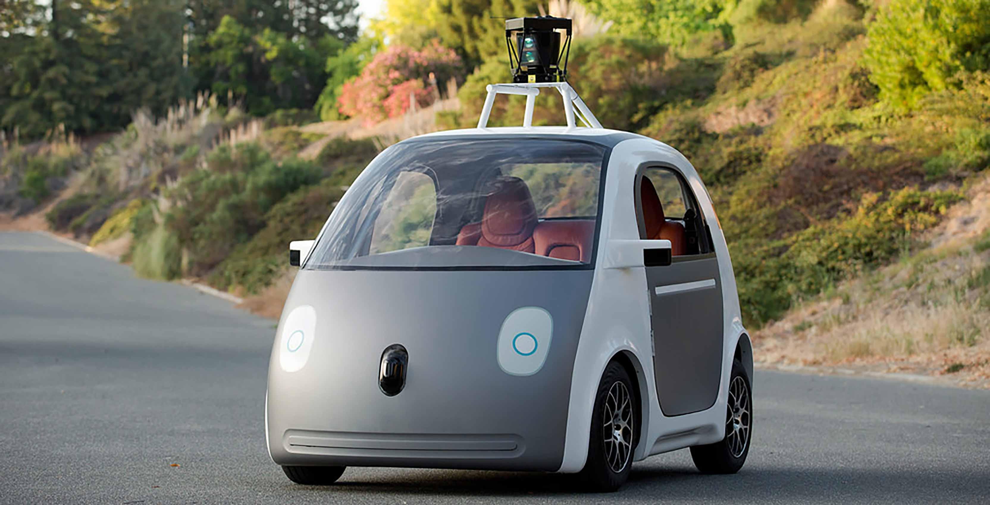 Waymo self driving car