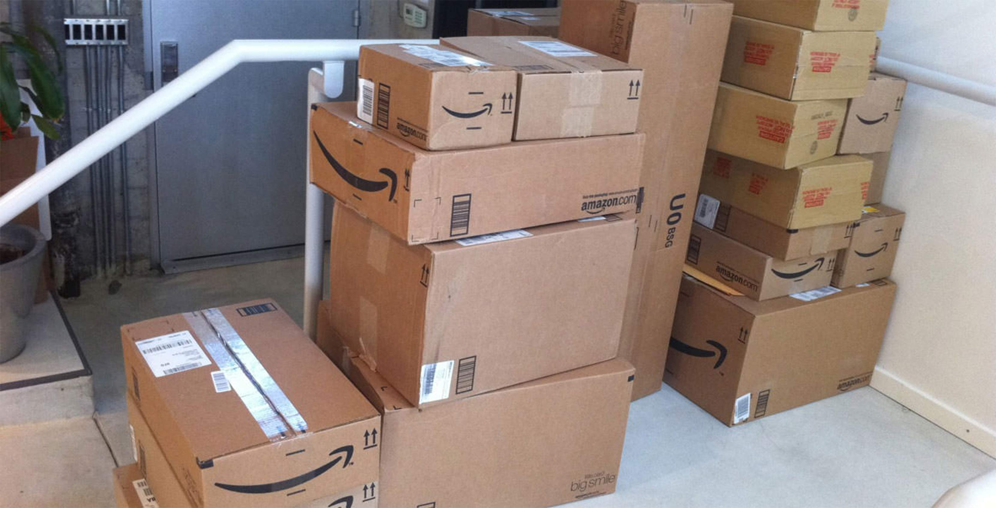 Amazon shipped a bonkers number of items to Prime customers in 2017
