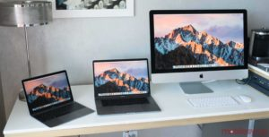 MacBooks and iMac