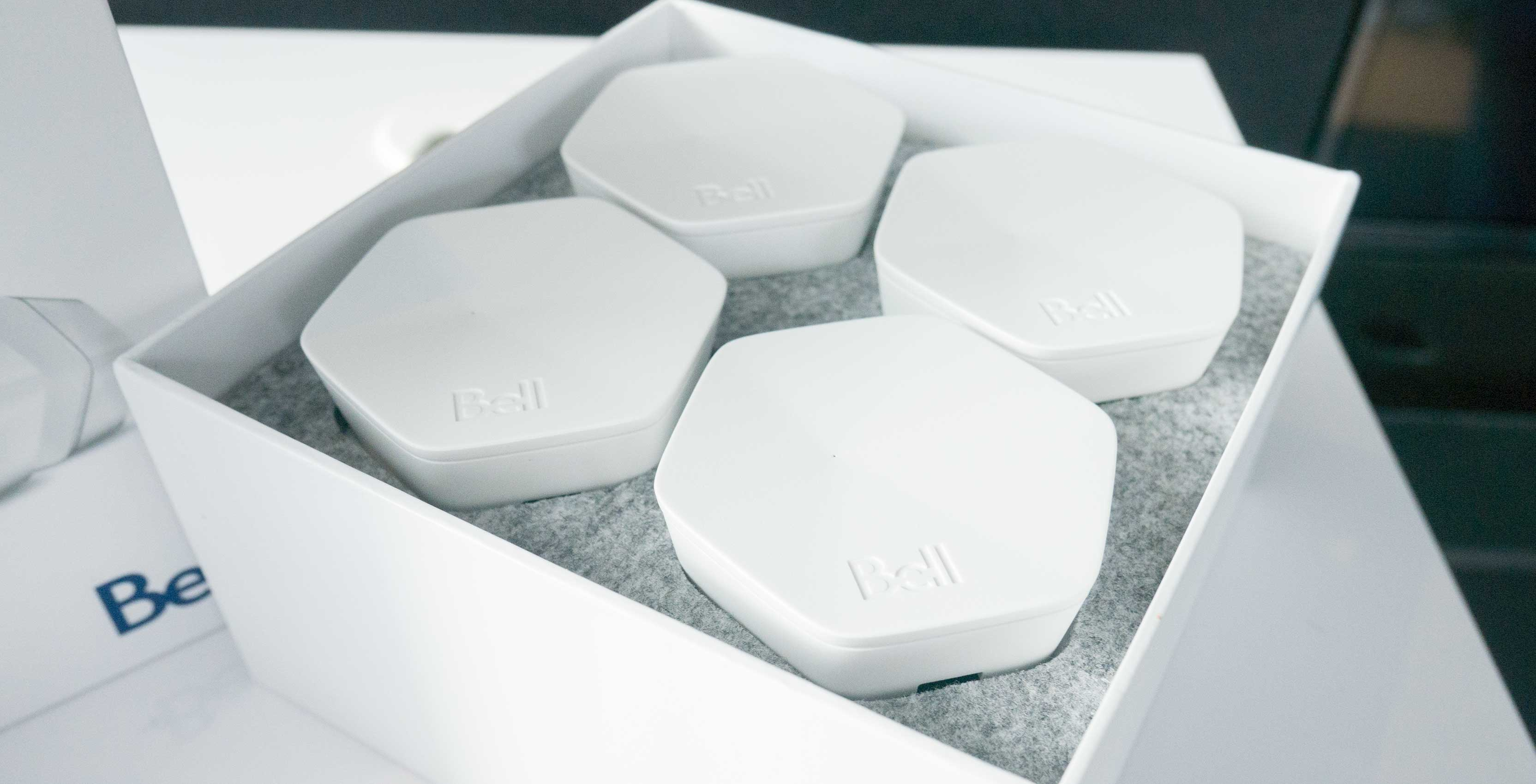 Bell launches Whole Home Wi Fi mesh network set for $5 monthly fee