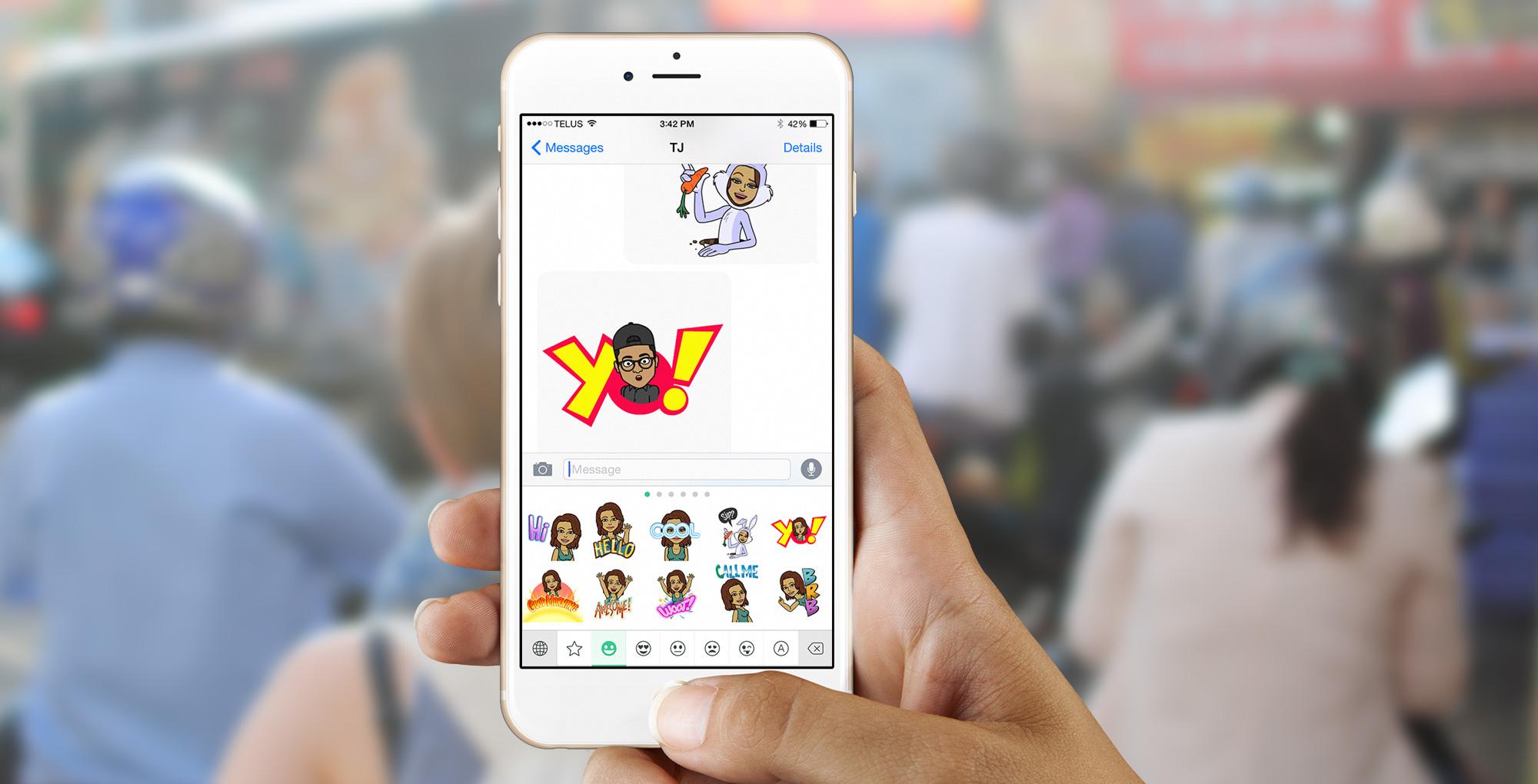 ea37718b541 Snapchat launches major 'Bitmoji Deluxe' update to Bitmoji
