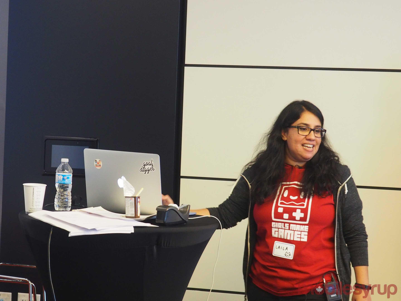 Girls Make Games Laila Shabir