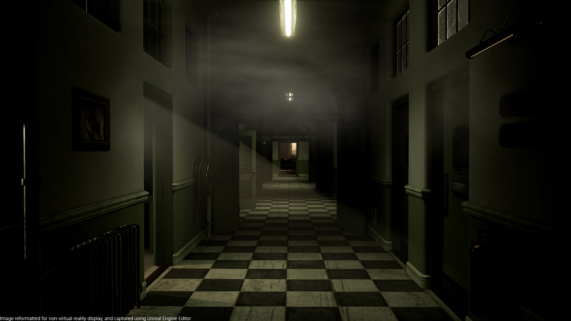 The Inpatient hallway
