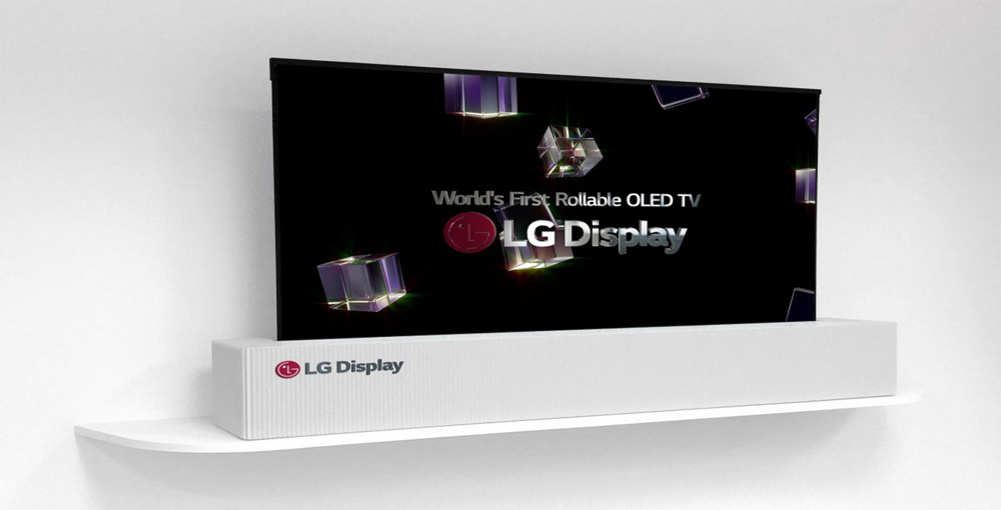 LG rollable 65-inch OLED TV