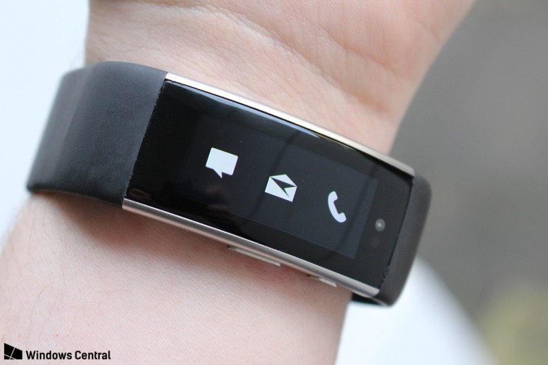 Microsoft Band 3 front