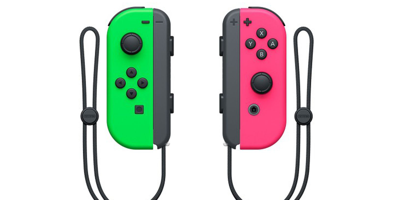 Nintendo Switch Green and Pink Joy-cons