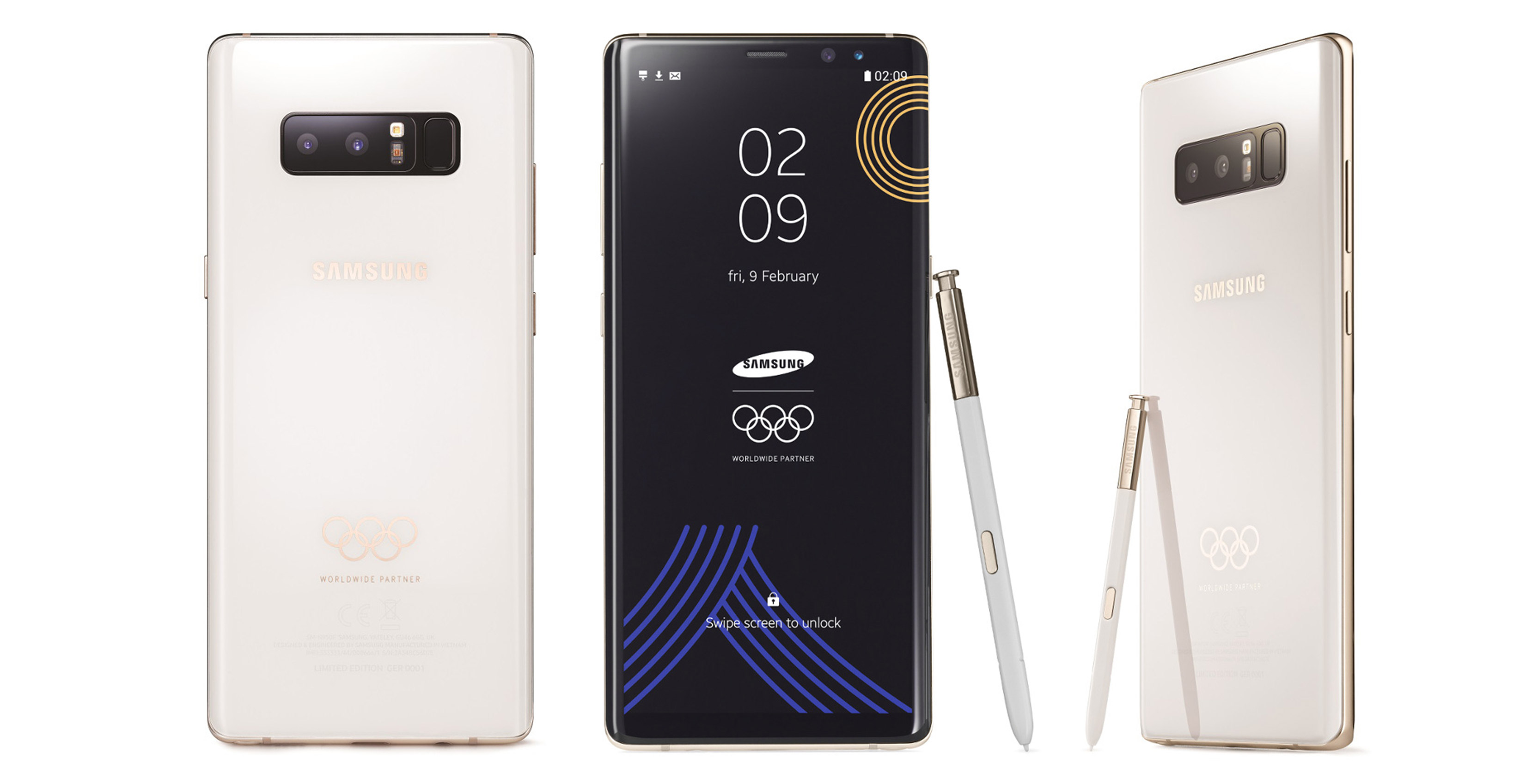 34b226ace6b Samsung releasing limited edition white 2018 Winter Olympics Galaxy ...