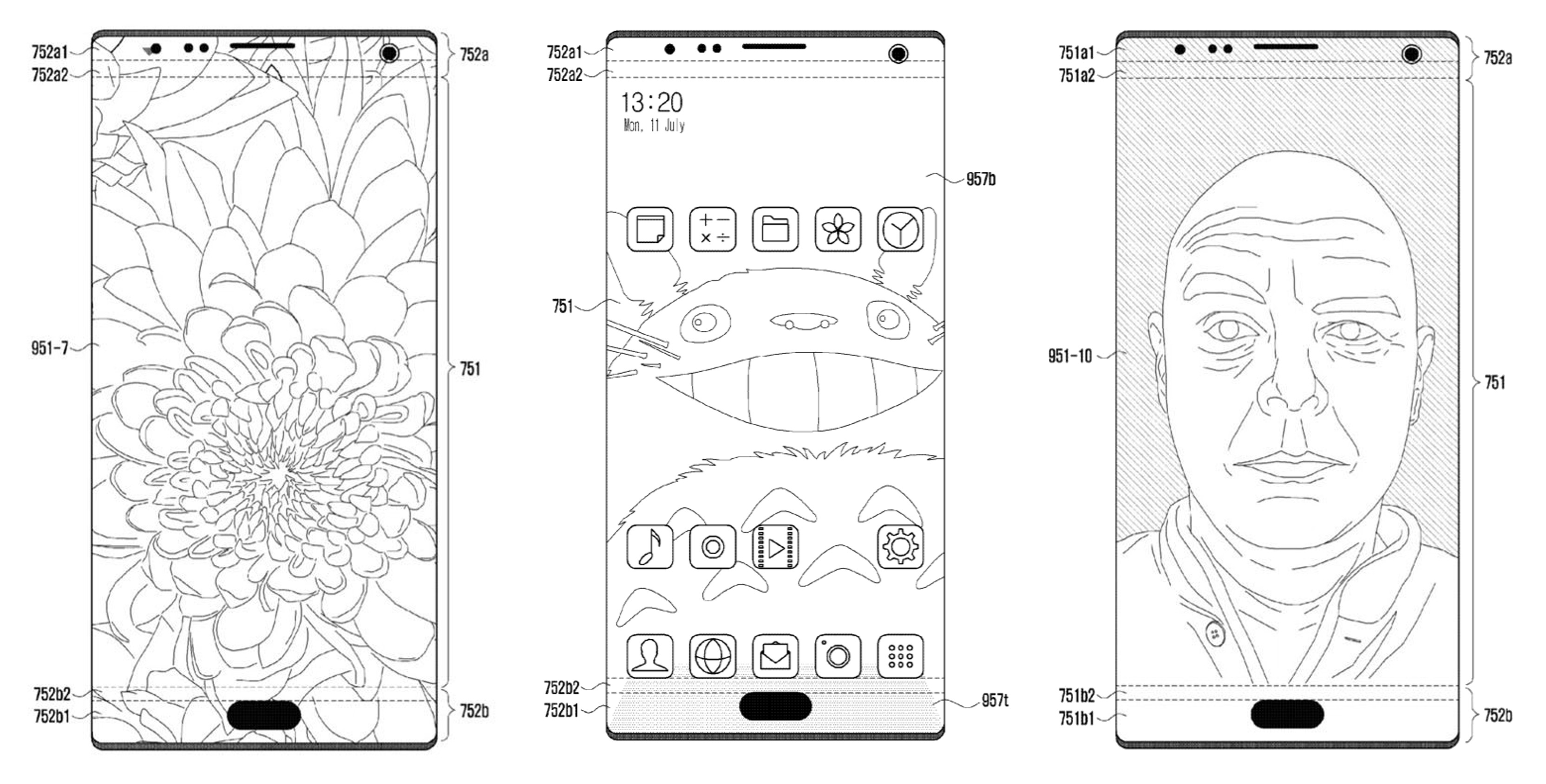Future Samsung phones might feature under-glass selfie cameras