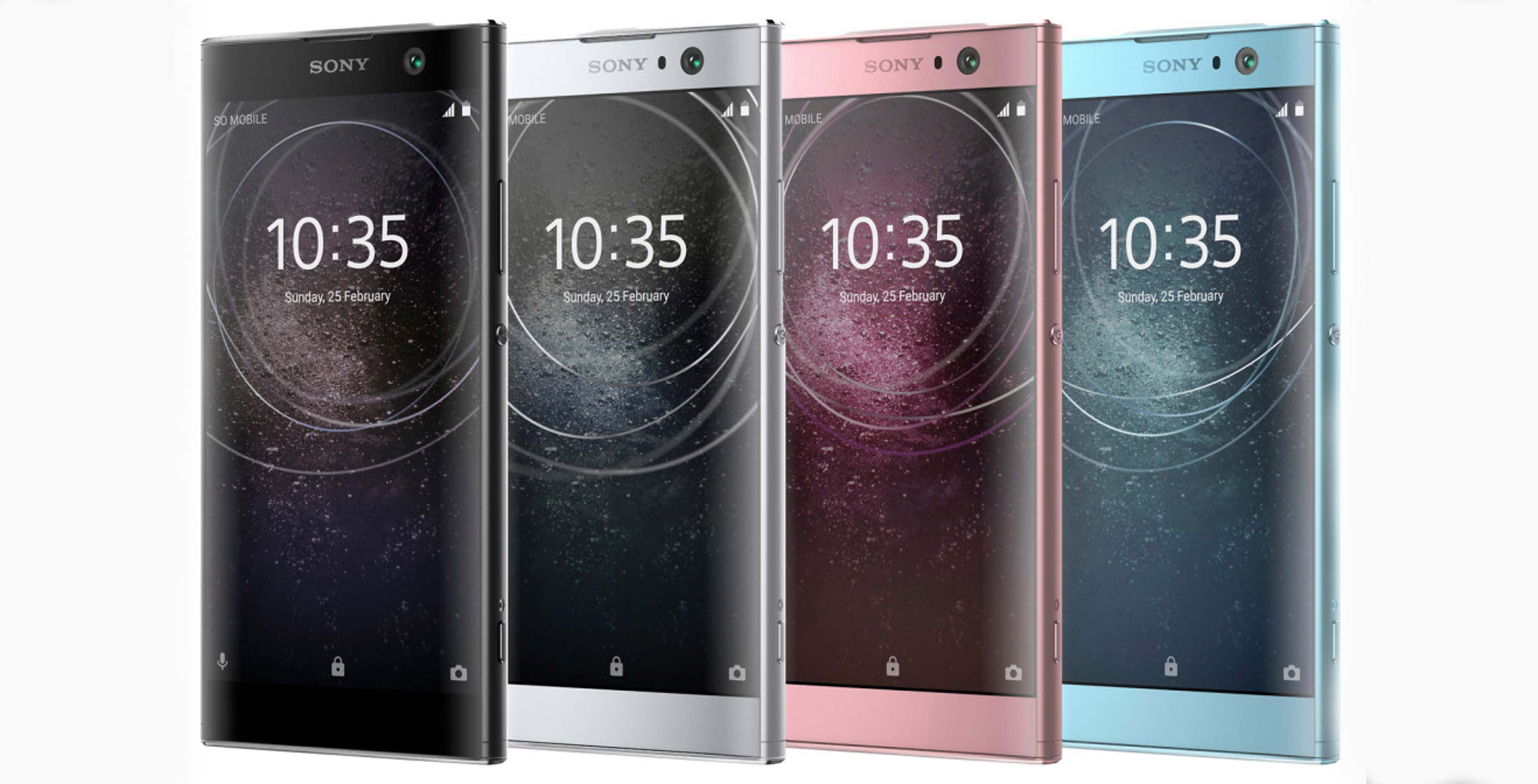 upcoming sony xperia xa2 xa2 ultra and l2 smartphones leak. Black Bedroom Furniture Sets. Home Design Ideas