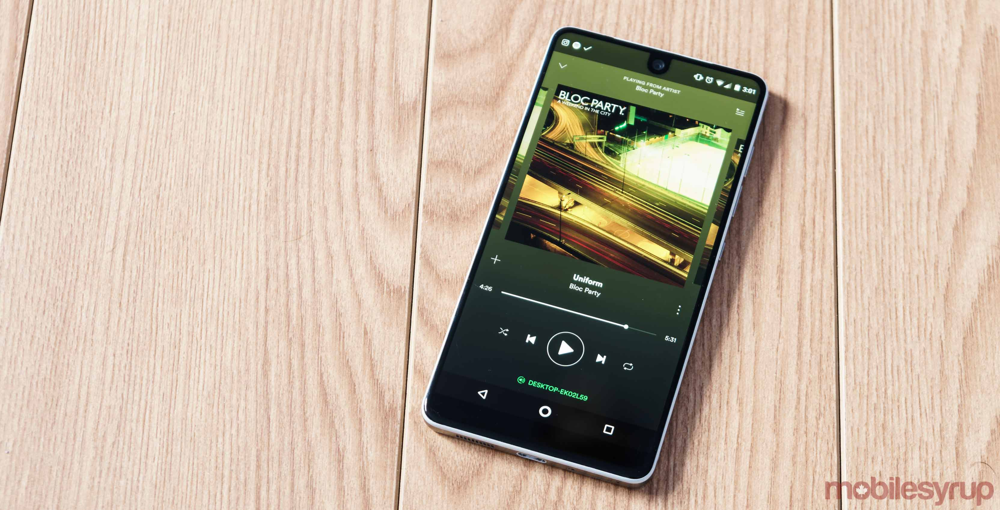 Spotify's 'Spotlight' feature adds a visual touch to podcasts and news