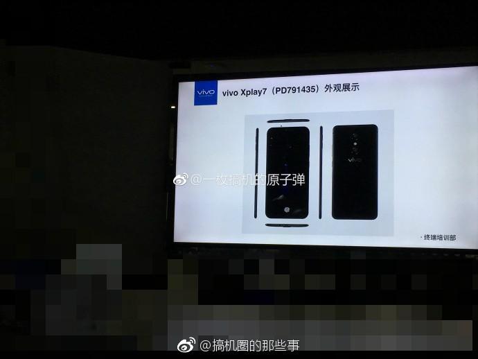 Vivo Xplay7 presentation