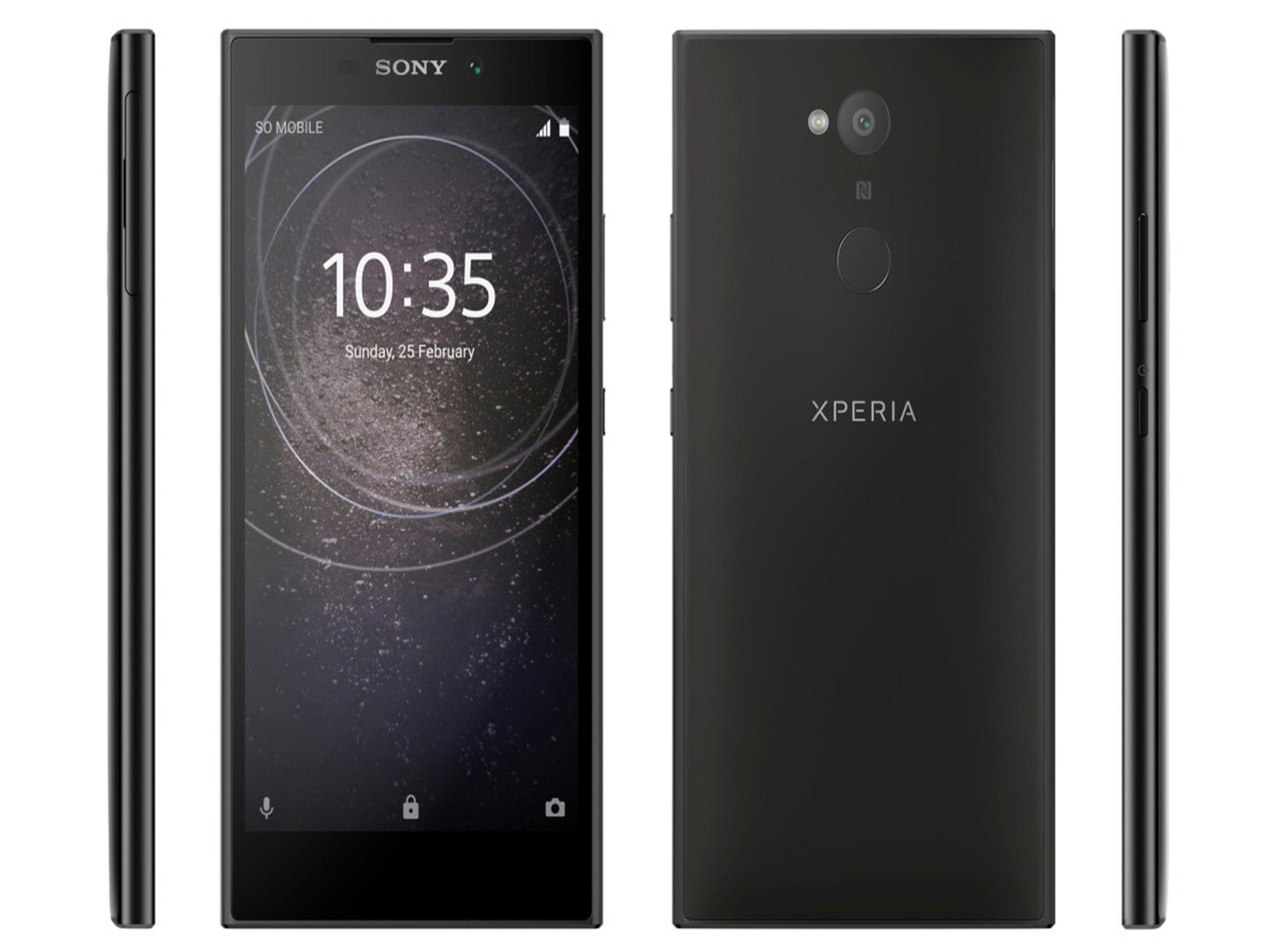 Official render of Sony Xperia L2