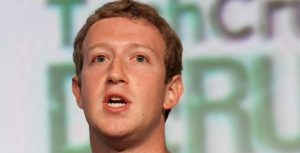 Mark Zuckerberg face
